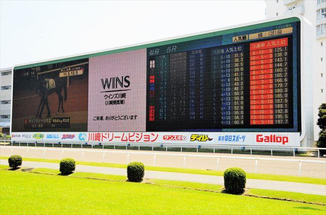 川崎競馬場 写真