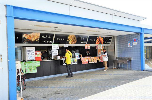 川崎競馬場 売店
