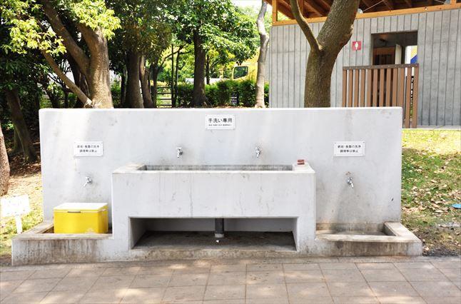 大井ふ頭公園 BBQ 洗い場