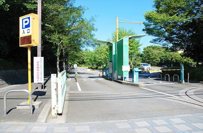 大井ふ頭公園BBQ 駐車場