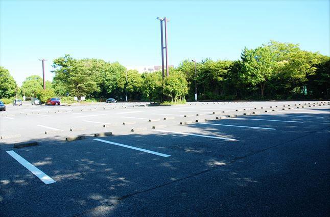 大井ふ頭海浜中央公園BBQ 駐車場