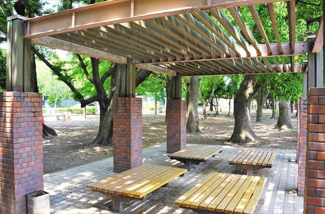 和田掘公園BBQ場